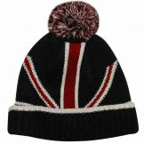 Union Jack Bobble Ski Hat