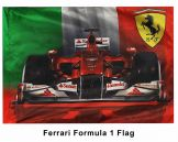 Giant Ferrari F1 Flag