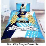 Man City Single Duvet Set
