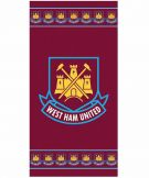 West Ham United Crest Towel