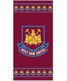 West Ham United Crest Towel