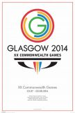 Commonwealth Games Glasgow 2014 Poster