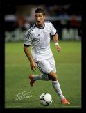Cristiano Ronaldo & Real Madrid Framed Print Manchester United