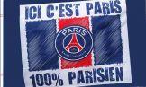 Paris St Germain PSG Crest Flag