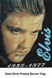 Giant Elvis Presley Banner Flag