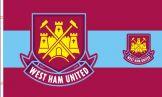 West Ham Utd Crest Flag