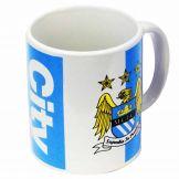 Man City Crest Football Mug