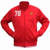 Manchester Utd Crest Tracktop for Training or Leisurewear Manchester United