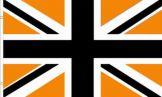 Black & Gold Union Jack Flag