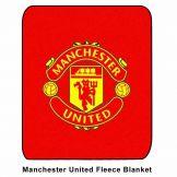 Man Utd Fleece Blanket Manchester United