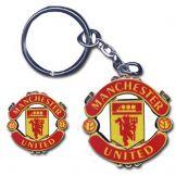 Man Utd Crest Keyring & Pin Badge Set Manchester United