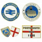 Pompey 657 Crew Badges