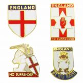 England Pin Badges