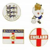 England Pin Badges
