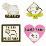 Derby County Pin Badge Set
