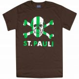 St Pauli & Celts Skull & Crossbones T-Shirt