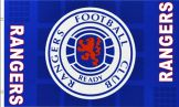 Rangers FC Football Crest Flag