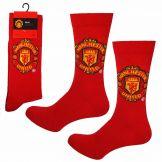 Manchester United Football Crest Socks Manchester United