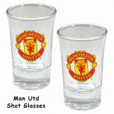 Manchester United Shot Glass Set Manchester United