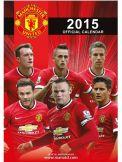 Manchester Utd 2015 Football Calendar Manchester United