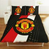 Manchester Utd Queen Size Comforter Cover Set Manchester United