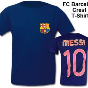 New FC Barcelona Lionel Messi tshirt on sale