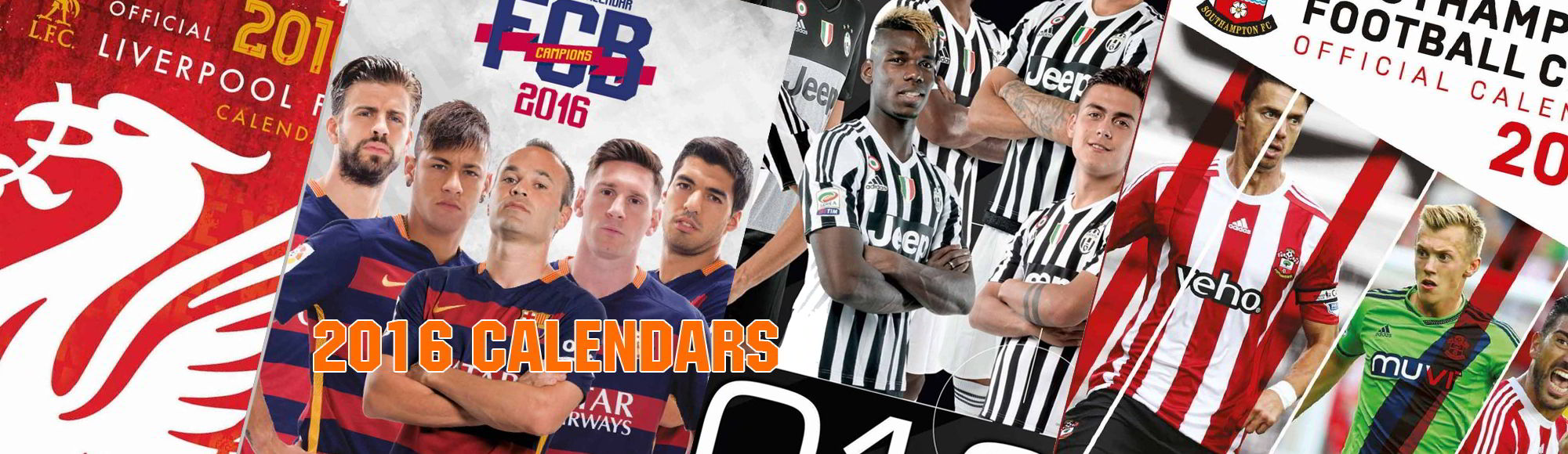 2016 Football Calendars