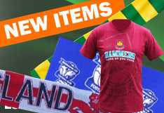 New arrivals for Manchester United, Liverpool FC and others here at the No. 1 football shop